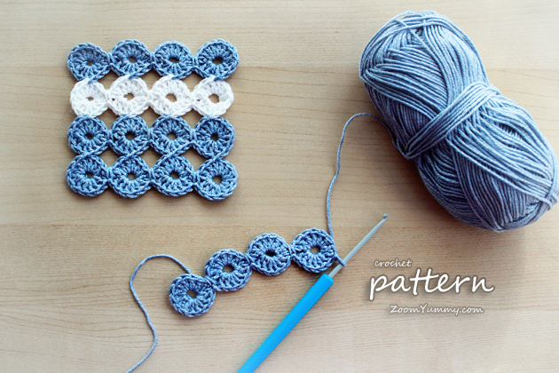 New Crochet Pattern – Joy Joy Coasters « Crochet « Zoom Yummy ...
