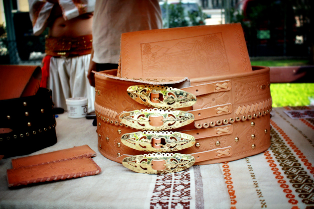 making products from leather