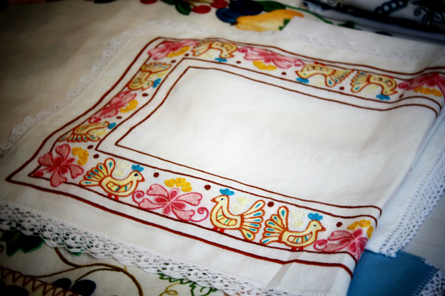 crooked needle embroidery