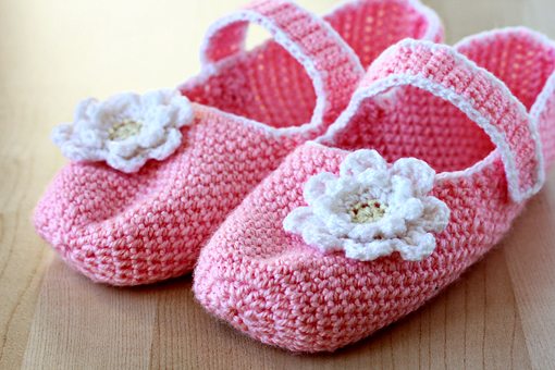 free crochet pattern - slippers