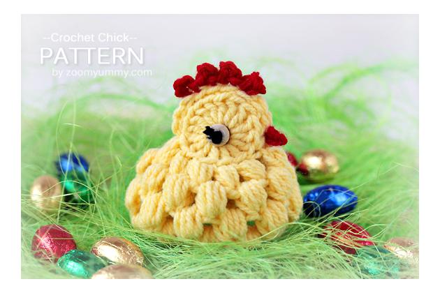 crochet Easter chick pattern