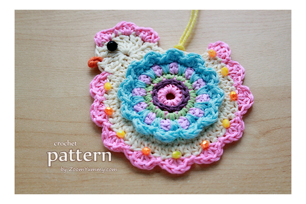happy crochet chick - Easter pattern