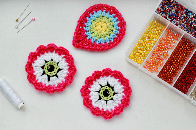 crochet project - in process