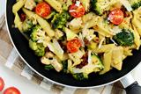 Chicken Broccoli Pasta Skillet With Parmesan