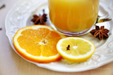 Cold Remedy Drink - Hot Orange Spice Beverage