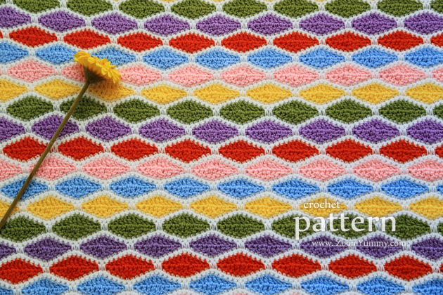 a million diamonds blanket pattern