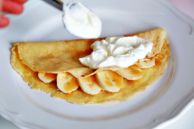 Banoffee crêpes recipe