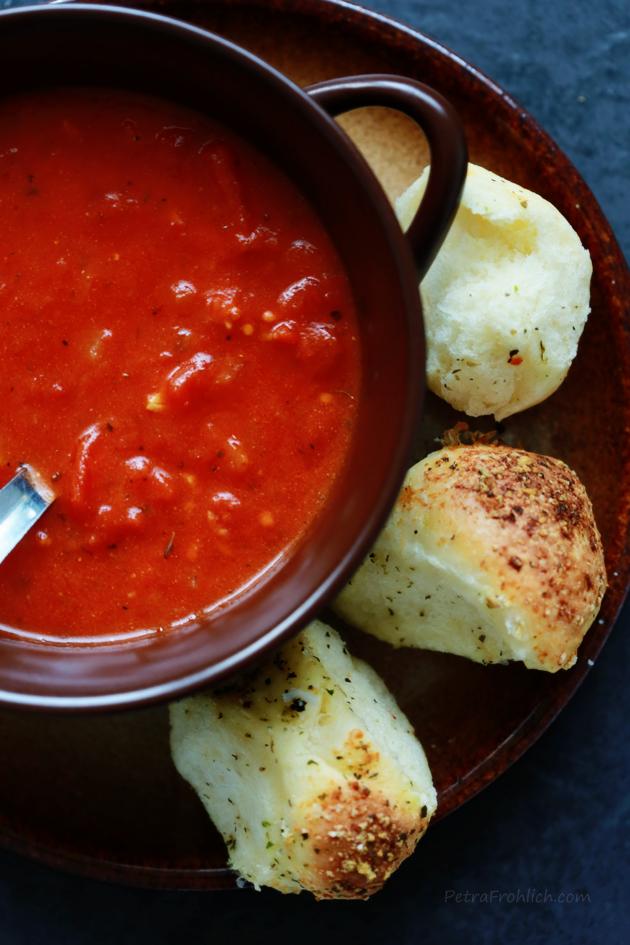 Parmesan Pull Apart Bread recipe