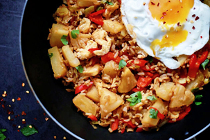 Thai Pineapple Fried Rice Recipe