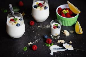 Swedish Cream With Berries Recipes