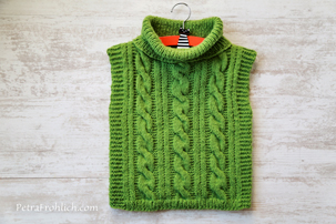 simple knit poncho pullover tutorial