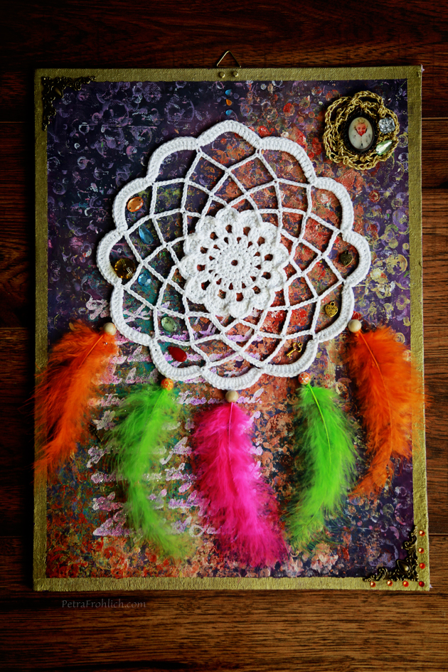 crochet dream catcher picture